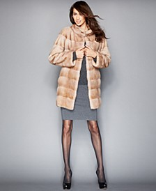 Three-Quarter-Length Mink Fur Coat