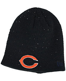 New Era Women's Chicago Bears Glistener Knit Hat