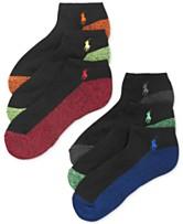 86dbd64db9d Polo Ralph Lauren Men s Athletic Celebrity Sport Socks 6-Pack