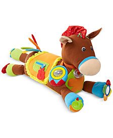 Melissa and Doug Kids' Giddy-Up & Play Pony Plush