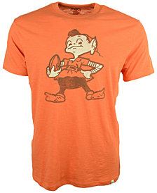 '47 Brand Men's Short-Sleeve Cleveland Browns Logo Scrum T-Shirt