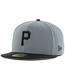 New Era Pittsburgh Pirates FC Gray Black 59FIFTY Cap