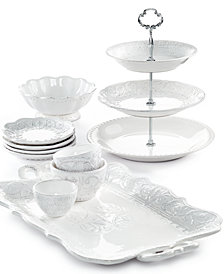 Maison Versailles Blanc Serveware Collection