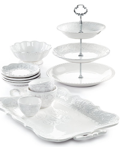 Maison Versailles Blanc Serveware Collection