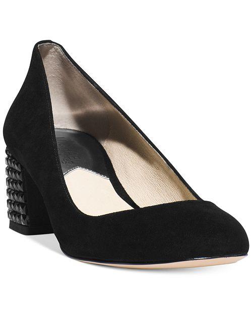 6acc9cdb0ff4 Michael Kors Arabella Kitten Heel Pumps   Reviews - Pumps - Shoes ...