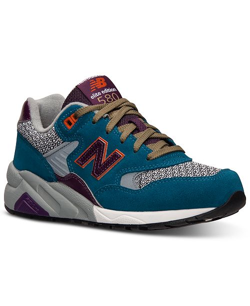 best service e5446 7edf9 New Balance Women's 580 Elite Edition Casual Sneakers from ...