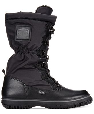 COACH Sage Lace-Up Cold Weather Boots