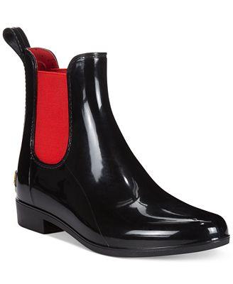 Lauren Ralph Lauren Women's Tally Short Rain Booties - Boots ...