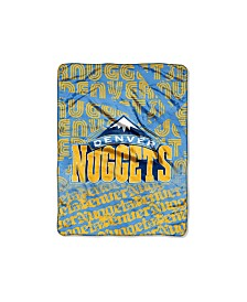 Northwest Company Denver Nuggets Micro Raschel Redux Throw Blanket