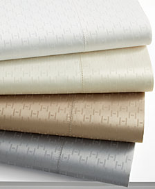 "CLOSEOUT! Hotel Collection 600 Thread Count ""H"" Dobby Sheet Collection, Created for Macy's"