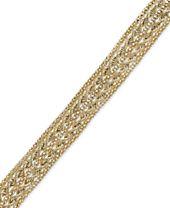 Chain Rope Bracelet in 14k Gold