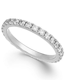 Arabella Swarovski Zirconia Infinity Band in 14k White Gold