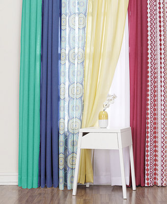 Lichtenberg Heathered Semi Sheer Curtain Collection Window Treatments For The Home Macy 39 S