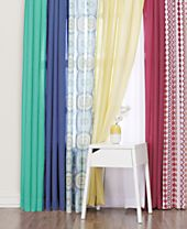 Lichtenberg Heathered Semi-Sheer Curtain Collection