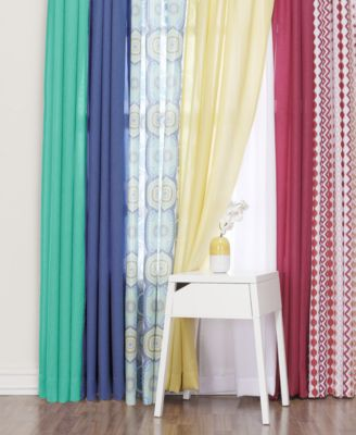 High Quality Lichtenberg Heathered Semi Sheer Curtain Collection