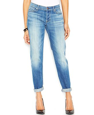 7 For All Mankind Josefina Boyfriend Jeans - Jeans - Women - Macy's