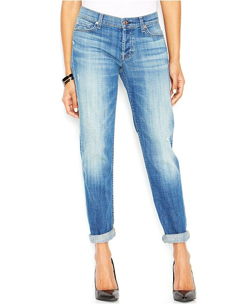 d6997c3b8e847a 7 For All Mankind Josefina Boyfriend Jeans & Reviews - Jeans ...