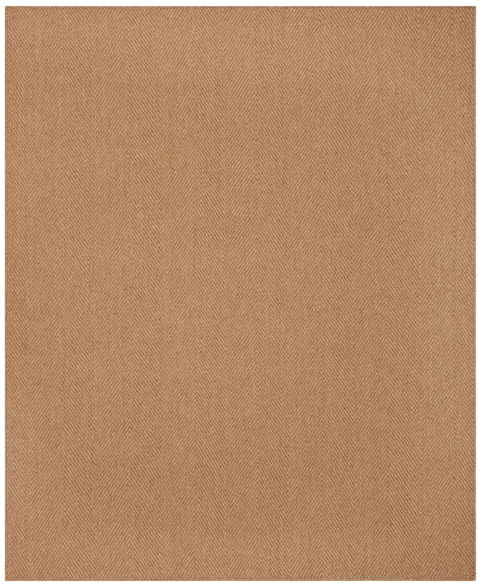 "Macy's Fine Rug Gallery - Sandbar Herringbone 6"" x 5'6"" Area Rug"