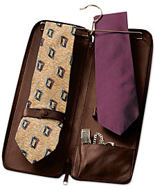 Royce New York Zippered Travel Tie Case
