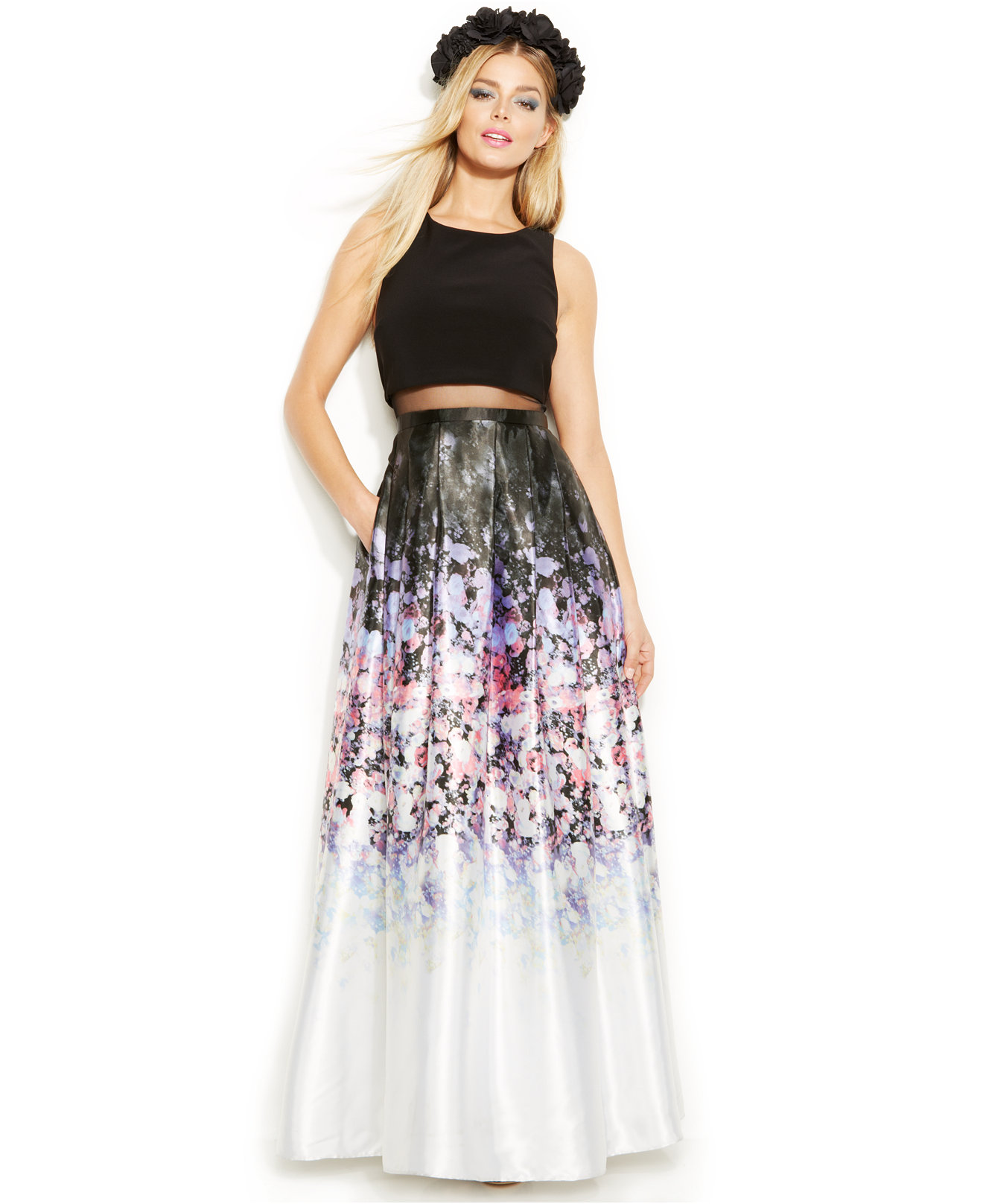 Betsy And Adam Prom Dresses - Plus Size Prom Dresses