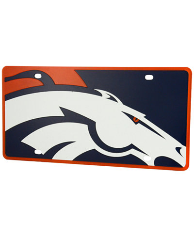 Stockdale Denver Broncos Printed License Plate