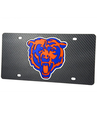 Stockdale Chicago Bears Carbon License Plate