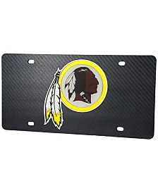 Stockdale Washington Redskins Carbon License Plate