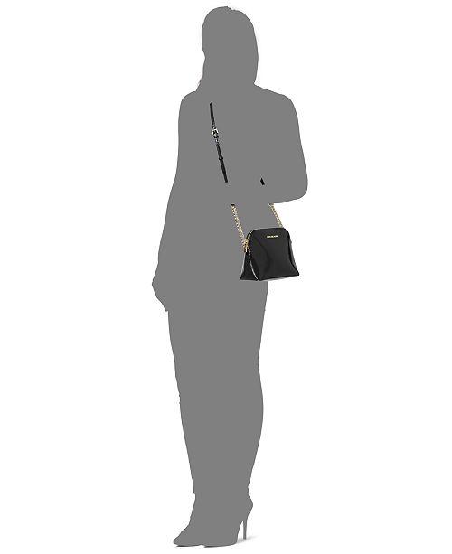 f7093a2b4110 ... germany michael kors cindy saffiano dome crossbody handbags accessories  macys 87b58 6b6c4