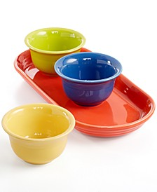 Mixed Colors 4-Piece Entertaining Set, Created for Macy's