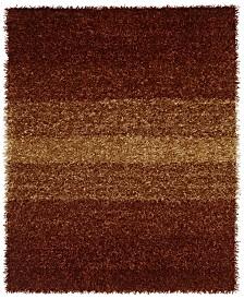 """CLOSEOUT! Dalyn Metallics Shades Shag 3'6"""" x 5'6"""" Area Rug"""