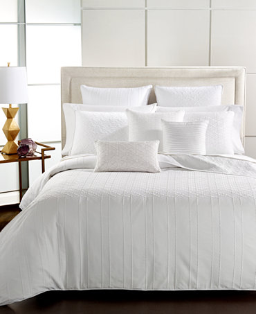 Closeout Hotel Collection Embroidered Sonnet Bedding