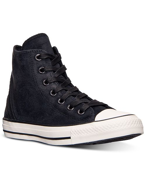 b2edf3992cae ... Converse Women s Chuck Taylor Tri-Zip Burnished Suede Casual Sneakers  from Finish ...