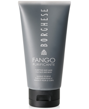 Borghese Fango Purificante Purifying Mud Mask for Face and Body, 5 oz
