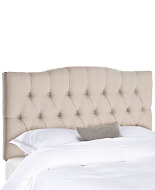 Jorie Upholstered Tufted King Headboard, Quick Ship