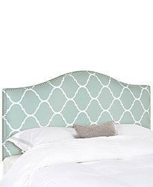 Leela Upholstered Full Headboard, Quick Ship