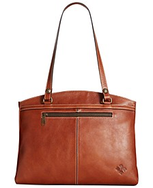 Poppy Smooth Leather Shoulder Bag