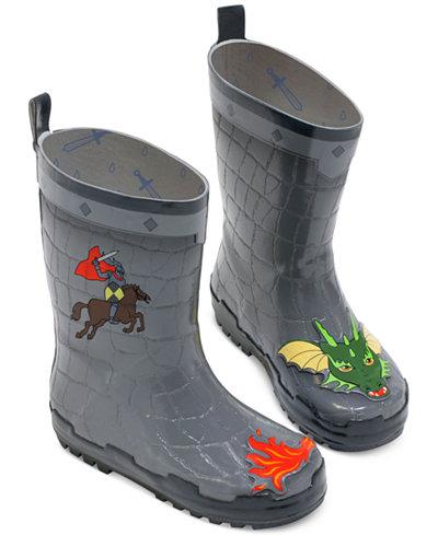 Kidorable Little Boys' Dragon Knight Rain Boots