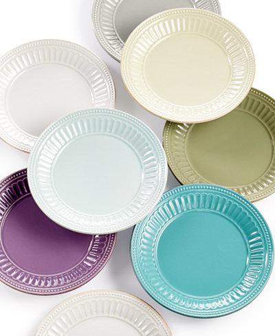 Lenox French Perle Groove Dessert Plate Dinnerware