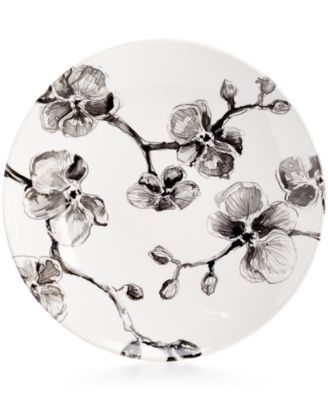 MADHOUSE by Black Orchid Melamine Dinner Plate