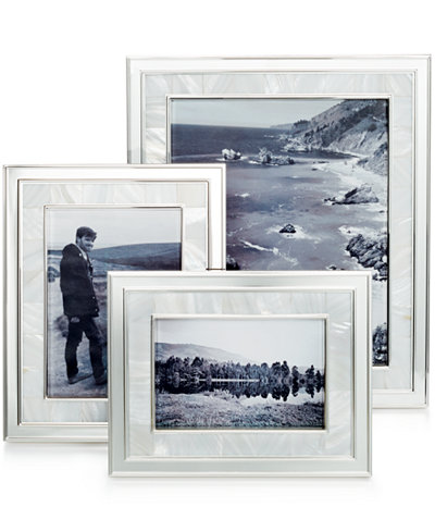 martha stewart collection mother of pearl frame collection - Mother Of Pearl Picture Frame