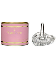 Waterford Pink Giftology Heart Ring Holder