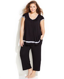 Ellen Tracy Plus Size Pajamas & Robes for Women - Macy's