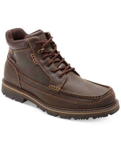 Rockport Gentleman's Waterproof Moc Toe Mid Boots