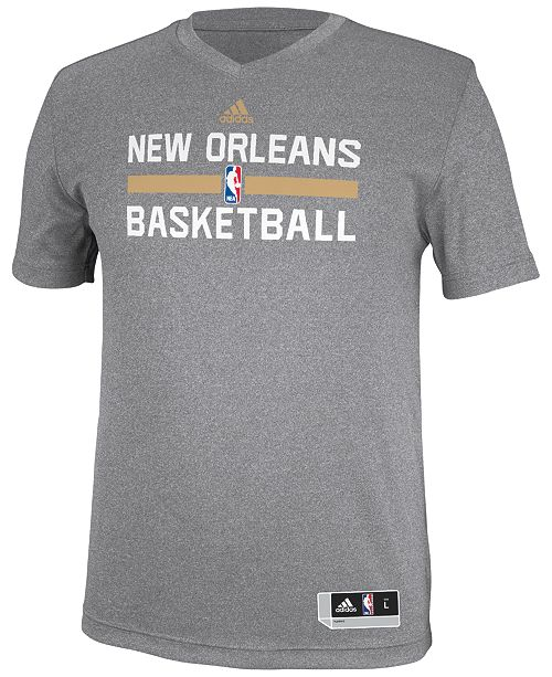 adidas Men's New Orleans Pelicans Practice Graphic T-Shirt