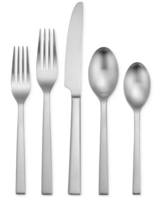 oneida satin chef 50pc flatware set service for 8 a macyu0027s