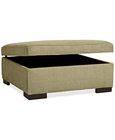 Radley Storage Ottoman - Custom Colors, Created for Macy's