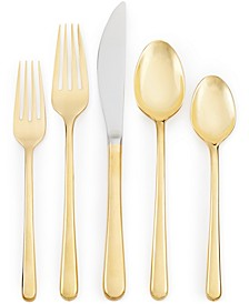 Samantha Gold 20-Pc. Flatware Set, Service for 4