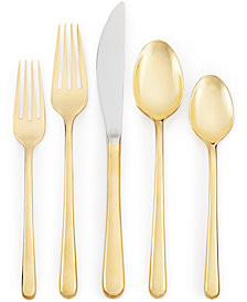 Cambridge Samantha Gold 20-Pc. Flatware Set, Service for 4