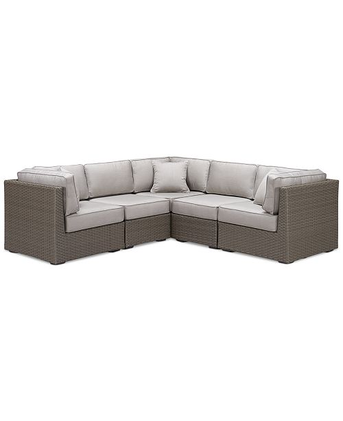 Furniture Closeout South Harbor Outdoor 5 Pc Modular