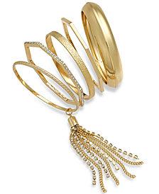 Thalia Sodi Geometric Bangle Bracelet Set, Created for Macy's